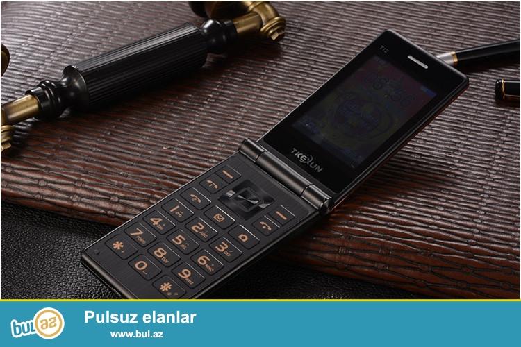 Yeni.Çatdırılma pulsuz<br /> Taç ekran və knopkalı<br /> Telefon qeydiyyat olunub: Bəli<br /> Ekran: Rəngli<br /> Cellular: GSM<br /> Screen tip Touch: Resistive ekran<br /> Ekran ölçüsü: 2...