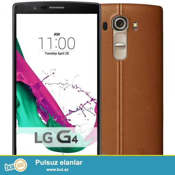 LG G4 Leather Brown<br /> Prosessor - Quad Core 1...