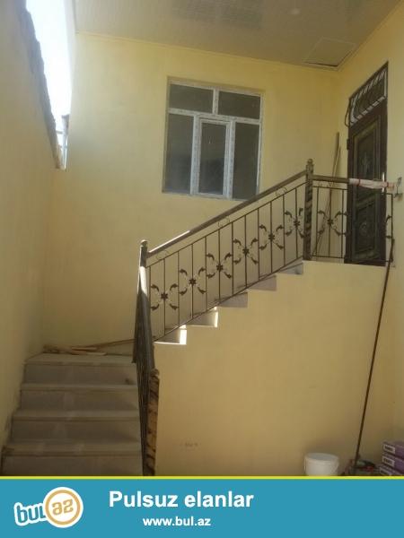 Bineqedi rayonunda 120 kvadratliq yerde 90 kvadratliq 3 otaqli ev...