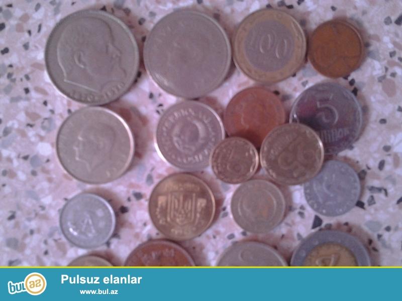 Hamısı birlikdə satılır.Araslarında 1991-ci il Yuqaslaviyanın 1-dinarı var ki,məhdud sayd buraxılıb və 4-dildə təsvir olunub...