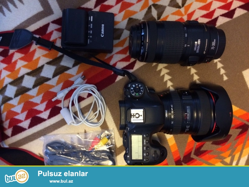 Canon EOS 6D Digital SLR Camera (Inc 24 - 105 mm STM Lens Kit...