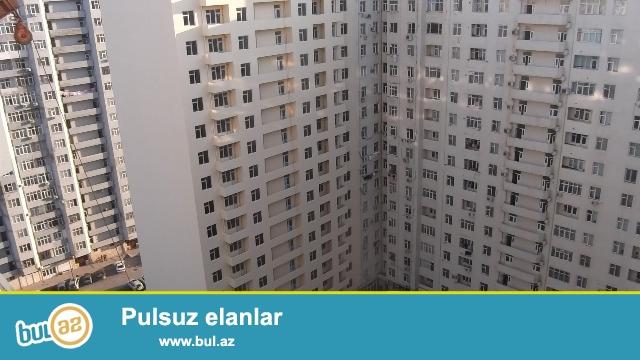 """Təmirdən sonra yaşayış olmayıb!!!! Binəqədi rayonu, 9mkr, """"Tərlan"""" ş/s yaxınlığında ,tam yaşayışlı yeni tikilidə 2 otağa düzəldilmiş mənzil satılır..."""