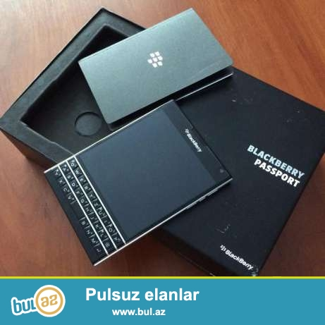 Blackberry Passport ideal zamanetle