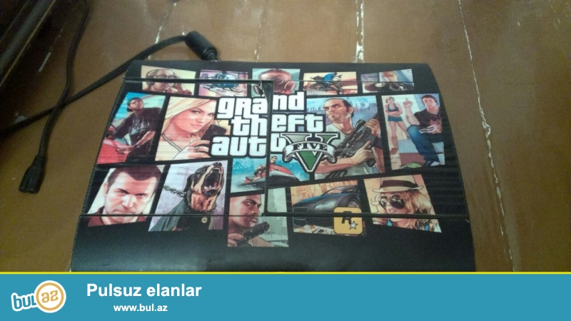 Playstation 3 Super Slim GTA5 EDITION <br />