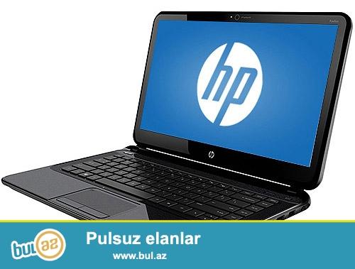 HP-14<br /> Pro:Intel Celeron<br /> Ram:4GB<br /> Vga:1GB<br /> Hdd:500GB<br /> Screen:14(Seonsor ekran)<br /> Noudbuk tam ideal veziyyetdedir...