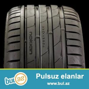 Усиленная шина с высоким индексом скорости<br /> <br /> Летняя шина Nokian Hakka Z SUV, разработанная для эксплуатации на автомобилях класса SUV...