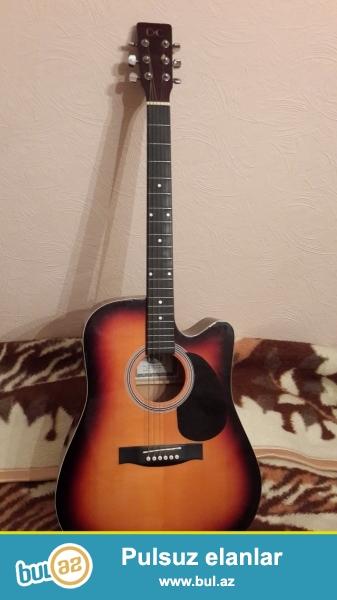 islenmemis akustic gitara YENI (made in korea
