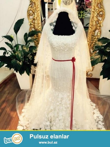 Ag gelinlik paltari White Lady  Wedding Boutique -den xususi hediyye Gelinliklerin sifarisi ucun xususi teklifler...