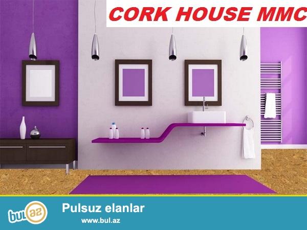 Cork House MMC firması antibakterial özəllikli,təbii ağacdan istehsal olunan divar,yer və tavan örtüklərinin faizsiz kreditini təklif edir...