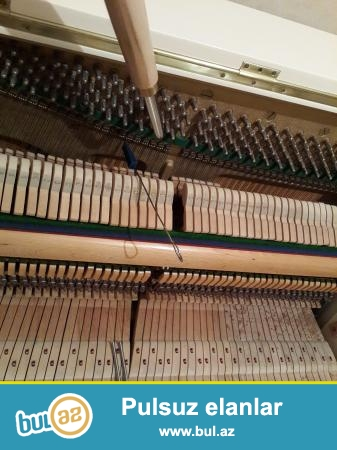 Ag ve geyfeyi rengde ela veziyetde Petrof ve Weinbash pianinolari satilir...