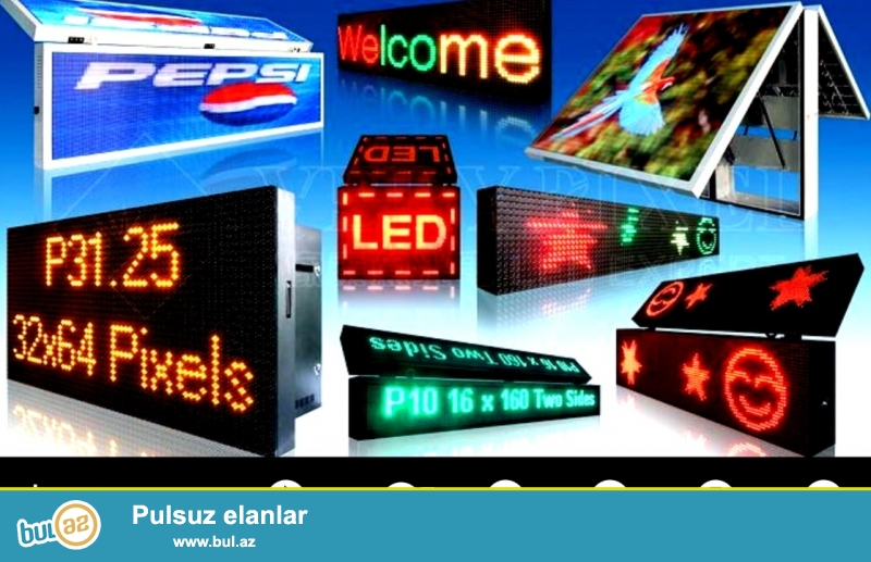 Xidmət növü: Reklam, poliqrafiya <br />