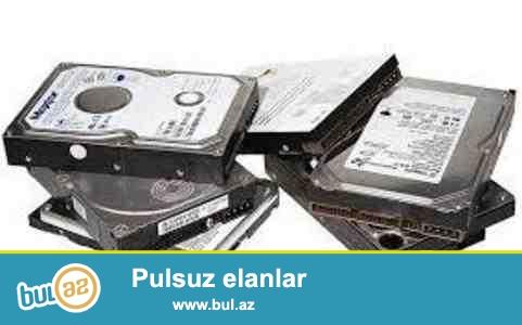 Salam Kompyuter ucun HDD satiram 500GB -45 AZN,1TB-70AZN ve 2TB-100AZN...