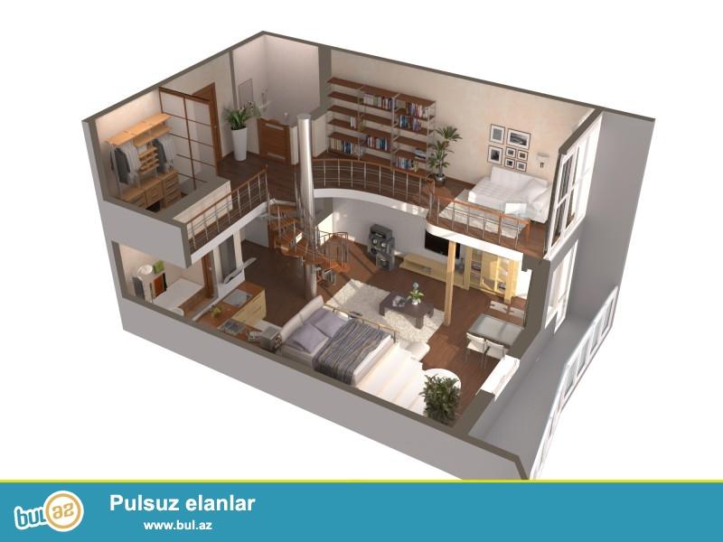 Cork House MMC firmasinda evlərin,interyerin,müxtəlif tikililərin,villa və obyektlərin 3D dizayn formatinda layihələndirilməsi, 1 k/metri cəmi 10 manata...