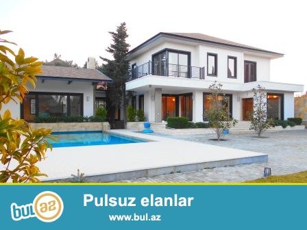 **РУФАТ*АЙНУР** Продаётся умный дом (вилла), расположенный в престижной части Бильгях, в 800 метрах от моря...