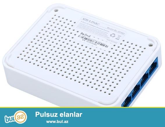LB-link LB-SF801 8 port LAN 10/100 Mbps Ethernet Switch satılır...