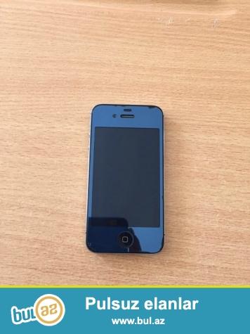 Telefonun hec bir problemi yoxdu,ustundeki plonkadi,16GB ustunde zaradka nauwnik karobka verilir,bir az ciziqlari var,telefon acilmayib ustada olmayib...