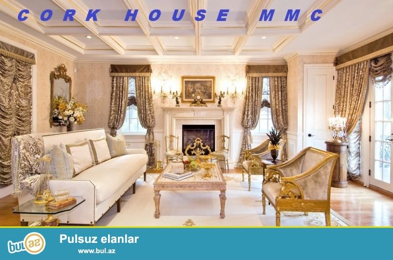 Almaniya ve Turkiye istehsali olan  keyfiyyetli material ve mexanizmlerden hazirlanmis istenilen nov ve terzde mebel destleri Cork House MMC firmasinda...