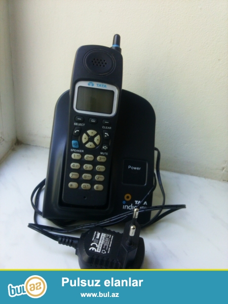 Az işlenmiş, ela veziyyetde katel telefon satılır.