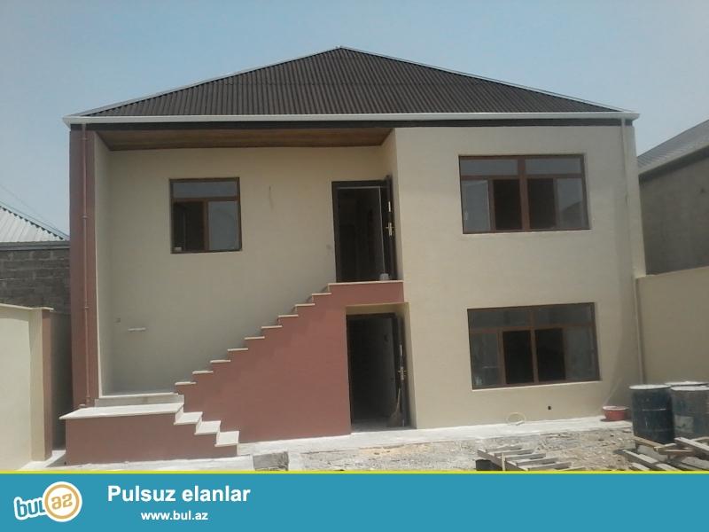 Binədə Milli Aviasiya Akademiyasının arxasında 3 sot torpaqda 2 mərtəbəli super təmirli həyət evi satılır...