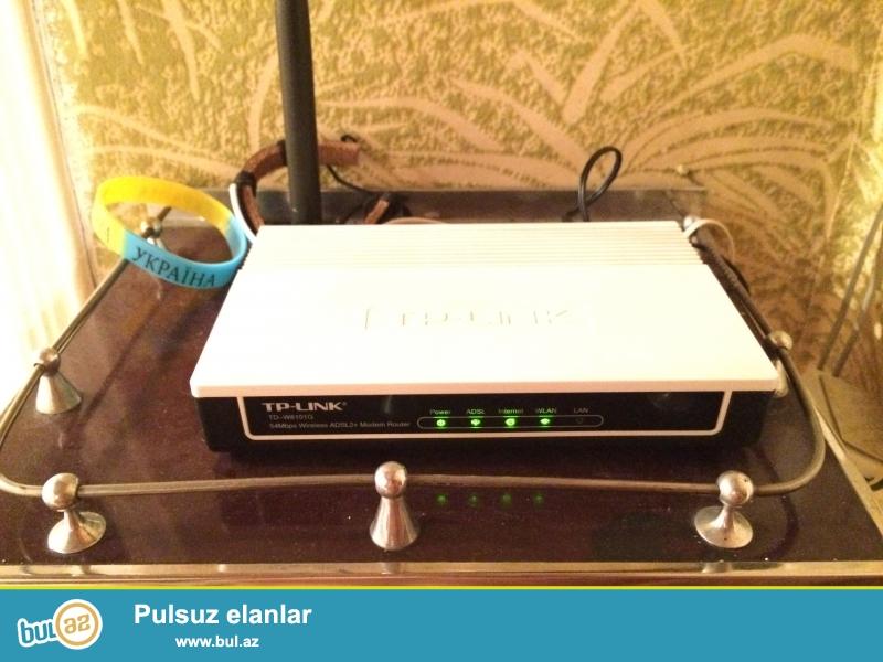 TP-Link modem satiram hec bir problemi yoxdur wifini cox super tutur...