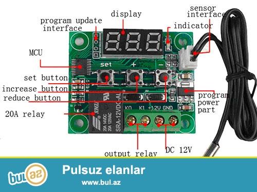 Inkubator ucun Thermostat satiram yenidiler deqiq isleyirler ozumde istifade elemisem keyfiyyetlidi...