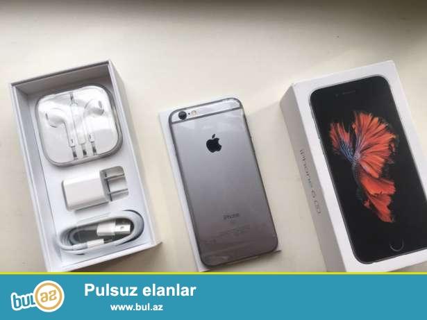 iPhone 6 s dubayski satilir tam yeni qutuda. 1:1 kopyadir her seyi eynidir.