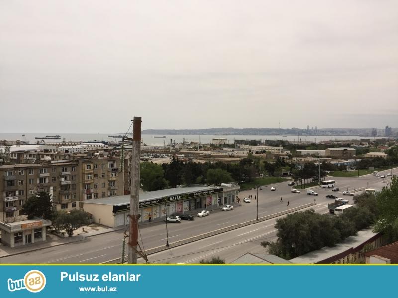Xetai rayonu, Nargilə kafesinin arxasında, eksperimental binain 7 ci mertebesi, 2 otagli dəniz baxan ev...