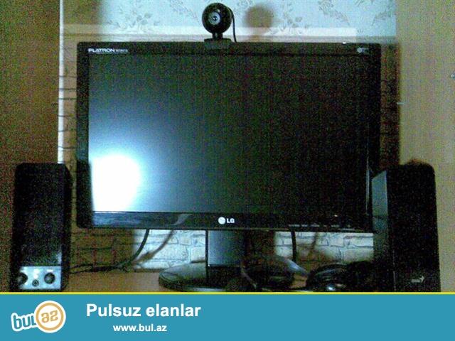 3 eded Komputer Satilir Tecili <br />  Monitor 19 <br /> Ram 2 - 4<br /> videokart 1...
