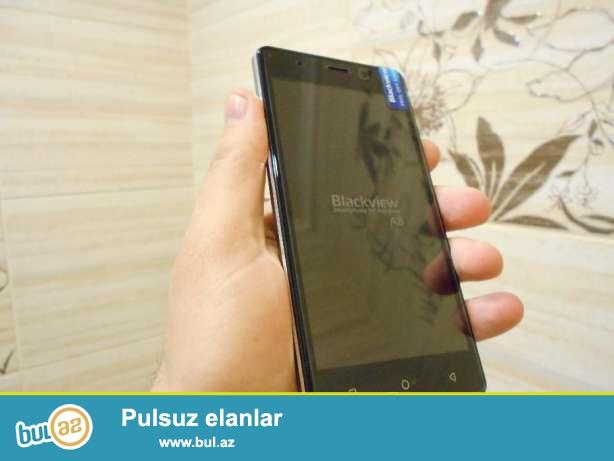 Telefon təzədir işlənməyib, 1 gb ram 8 gb yaddaş, 8 mp ön və 2 mp arxa kameraya malikdir...