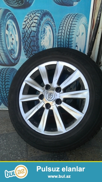 Lexus570,Toyota land Grusere geden 20-lik az iwlenmiw disk-teker satilir.