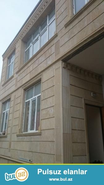 Очень срочно! В первом жилом массиве Бадамдар  на против Сaspian hosbitall ,  продаются   2-х этажных  ,8  комнатных  вилл,  площадь каждой по 400 квадрат расположенных  на  9...