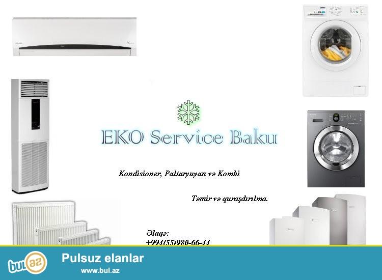 EKO SERVICE BAKU sizləri keyfiyyətli xidmət ilə tanış edir...
