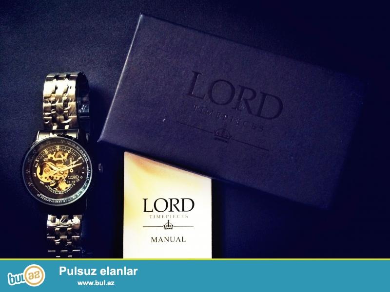 Источают силу и мужскую энергию везде где вы не были с часами Lord Timepiece...