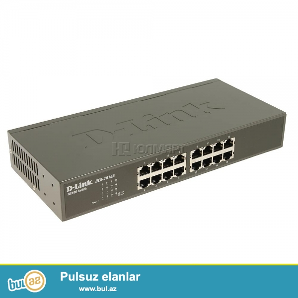 D-Link Switch DES-1016a, tezedi.