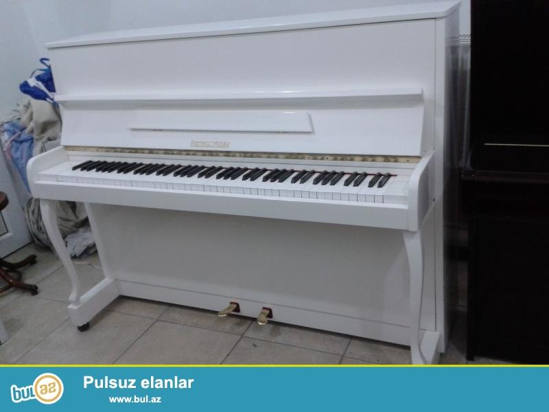 Ağ ve qehveyi renglerde 2 ve 3 pedallı PETROF, SCHOLZE, WEINBACH, RÖSLER, ZİMMERMANN, RÖNİSCH, GEYER, ALEXANDER HERRMANN pianoları satılır...