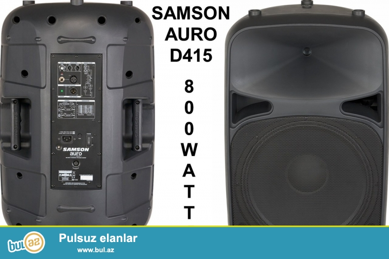 HAKIM MUSIC GROUP<br /> SAMSON Auro d115<br /> aktiv kalonkadi 800W