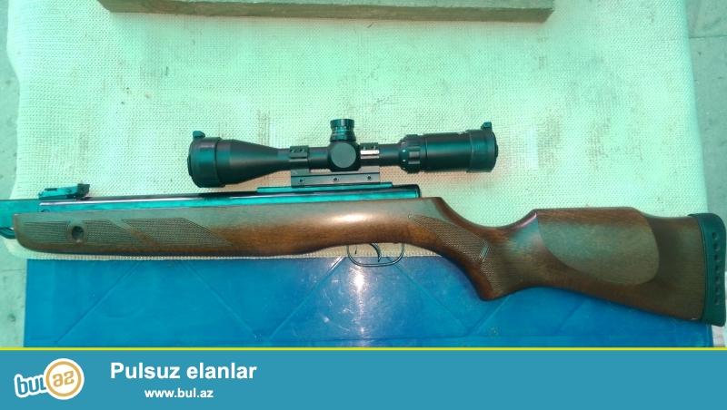 İspaniya brendi Gamo Hunter 1250 4.5mm ov ucun nezerde tutulmuş pnevmatik silahdir. 50-100 metreden quş dovşon öldürür...