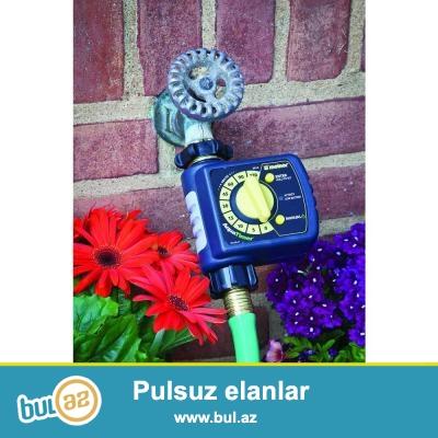 Avtomatik suvarma avadanlığı.<br /> <br /> Melnor 3012 - 1 zona Daily water timer qurğusu 1 çıxışdan ibarətdir...