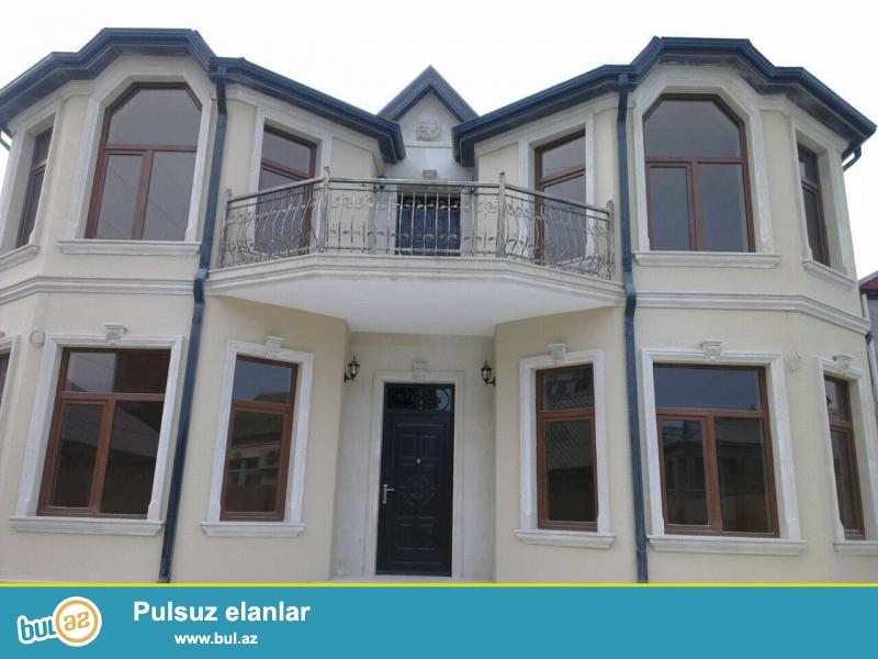 Очень срочно !  В поселке Бакиханово бывший Разино не далеко от д/т «AURA» продаётся 2-х этажный  6-ти комнатный частный дом площадью 400 кв ...