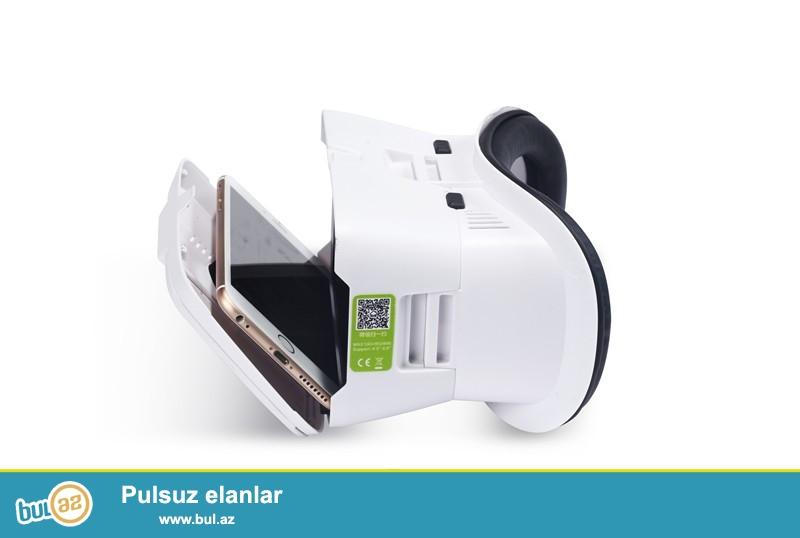 Yeni.Çatdırılma pulsuz<br /> BOBOVR  II Elaveli 4-6 Ekran smartfonlar uchun 3D VR Eynək<br /> <br /> <br />     Bu mehsulun maqnetik hissələri var...