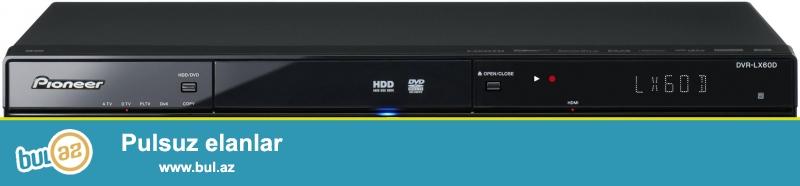 Мультиформатный DVD рекордер, позволяющий записывать диски DVD-R/RW/+R/+RW, а также двухслойные DVD+R/-R DL и диски форматов DVD-RAM...