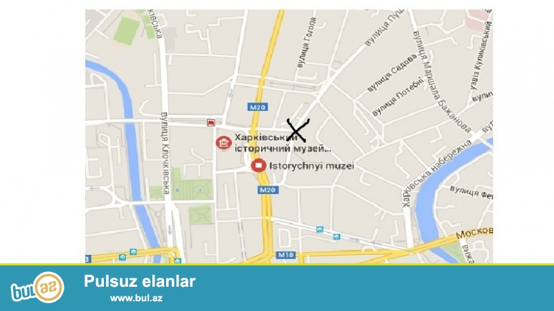 Xarkov şəhərinin mərkəzində,Puşkincki küçəsində,Sovetski,İstoriçeski muzey metrosunun yaxinliginda,sahəsi 140 m2 olan super market satilir...