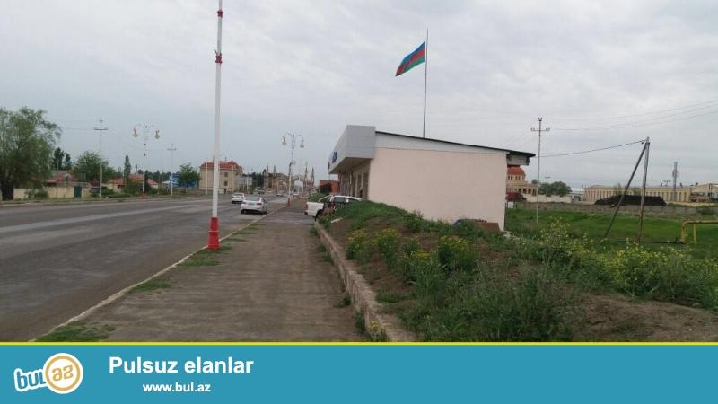 Xacmaz rayonunda merkezde Azersunun Konser zavodunun yaxinliqinda sahesi 1...
