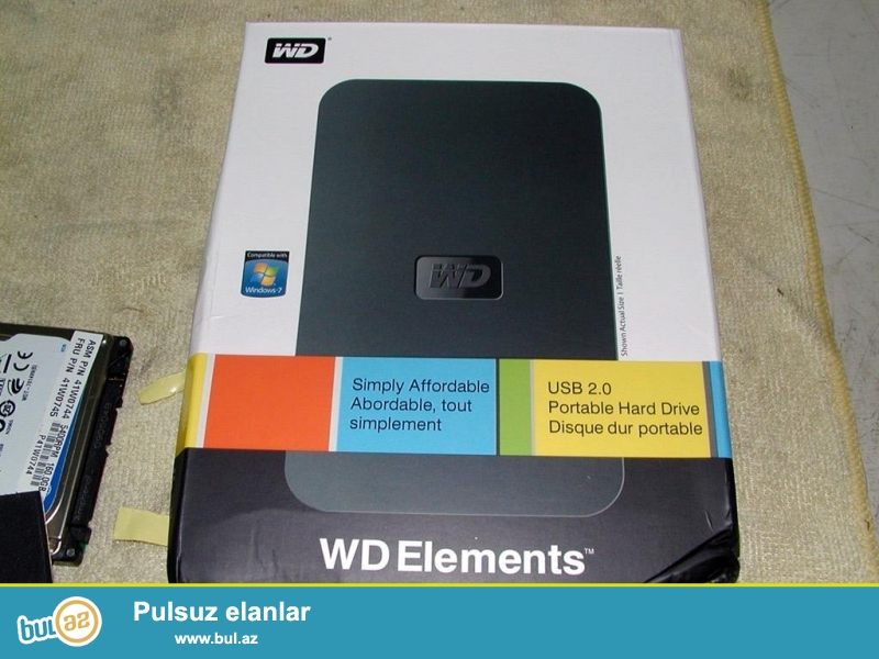 USB EXternal sata box 2.5. Seher ici ve servis merkezlerine catdirilma mumkundu...
