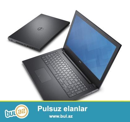 Satilir -Notebook-Dell Inspiron 3542<br /> Yeni-1 İl təminat<br /> Model-İNSPİRON 3542<br /> CPU-Core İ3 4005U<br /> Operativ yaddas- WIN 8...