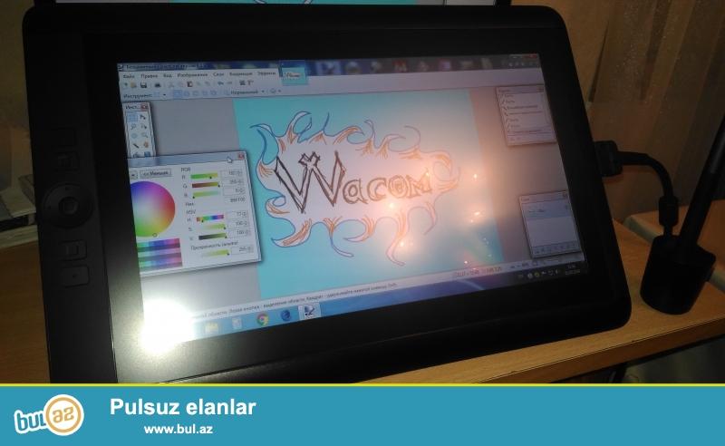 Qrafiki planşet - parametrləri:<br /> ölçüsü - 375 x 248 x 14mm<br /> ekranın ölçüsü (diaqonal) - 33...