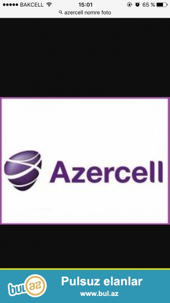 Azercell nomresi SATILIR !<br /> 050-288-88-30<br /> Real alicilar zeng vursun !