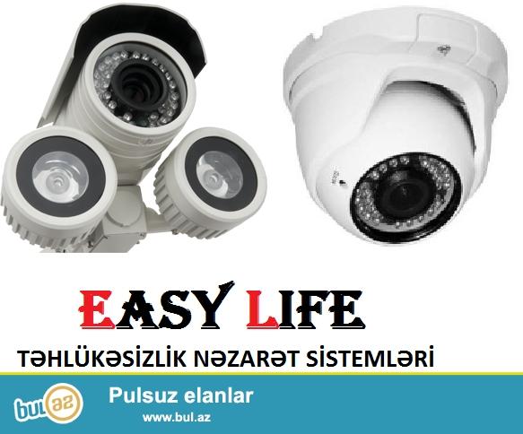 NEZARET KAMERALARI; Easy life  sirketi Azerbaycanda tehlukesizlik ve muhafiizenin heyata kecirilmesinde liderlerden biridir...