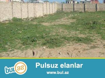 Sumqayıt şəhəri, 17-ci mkr axırında, 33 nömrəli marşutun dayanacağında 6 sot torpaq sahəsi satılır...