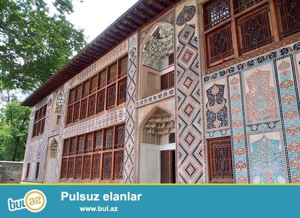 Seyahet,turizm,istirahet ve s.meqsedle gedenlere Seki rayonunda gunluk qalmaq ucun kiraye heyet evi...